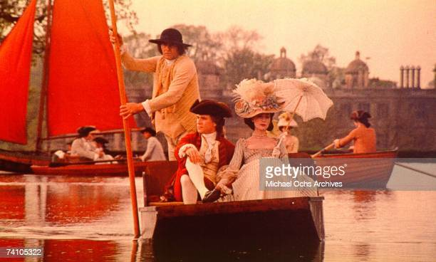 Actor Ryan O'Neal in a scene from the movie 'Barry Lyndon' directed by Stanley Kubrick Movie won four Academy Awards