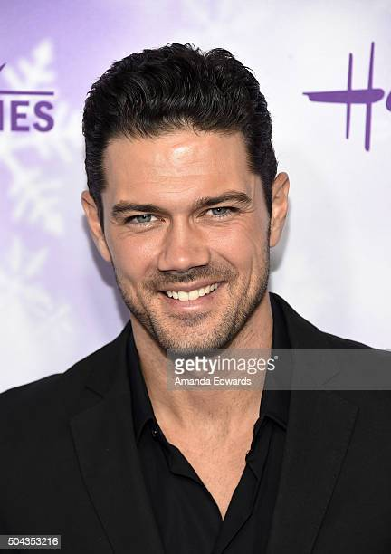 Actor Ryan Paevey arrives at the Hallmark Channel and Hallmark Movies and Mysteries Winter 2016 TCA Press Tour at Tournament House on January 8 2016...