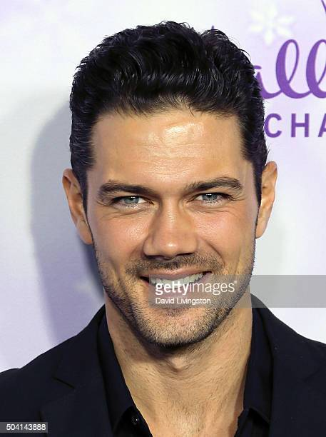 Actor Ryan Paevey attends the Hallmark Channel and Hallmark Movies and Mysteries Winter 2016 TCA press tour at Tournament House on January 8 2016 in...