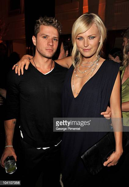Actor Ryan Phillippe and actress Malin Akerman attend the 11th Annual InStyle and the Hollywood Foreign Press Association's Toronto International...
