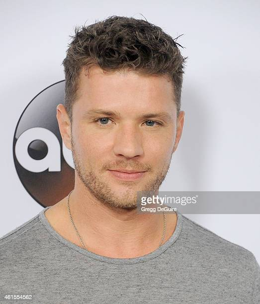Actor Ryan Phillippe arrives at Disney ABC Television Group's TCA Winter Press Tour on January 14 2015 in Pasadena California