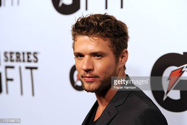 Actor Ryan Phillippe arrives at Gatorade's 'G Series Fit' Launch Party at the SLS Hotel on April 12 2011 in Los Angeles California