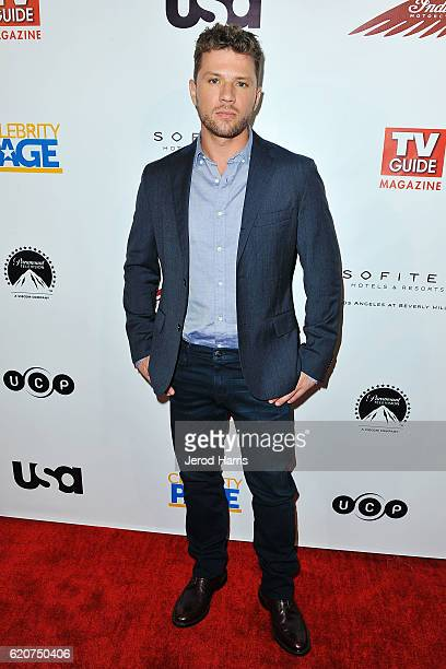 Actor Ryan Phillippe arrives at TV Guide Magazine and USA Network Celebrate 'Shooter' at Sofitel Hotel on November 2 2016 in Los Angeles California