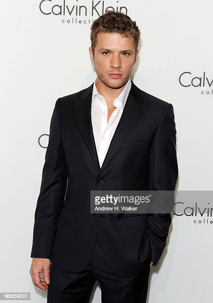 Actor Ryan Phillippe attends the Women's Fall 2010 Calvin Klein Collection after party on February 18 2010 in New York City