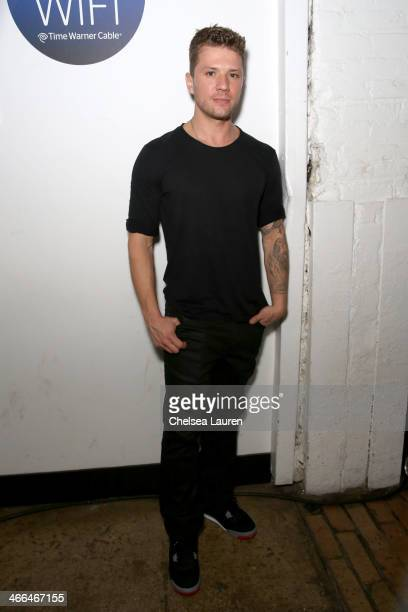 Actor Ryan Phillippe attends Time Warner Cable Studios and Revolt Bring the Music Revolution event on February 1 2014 in New York City