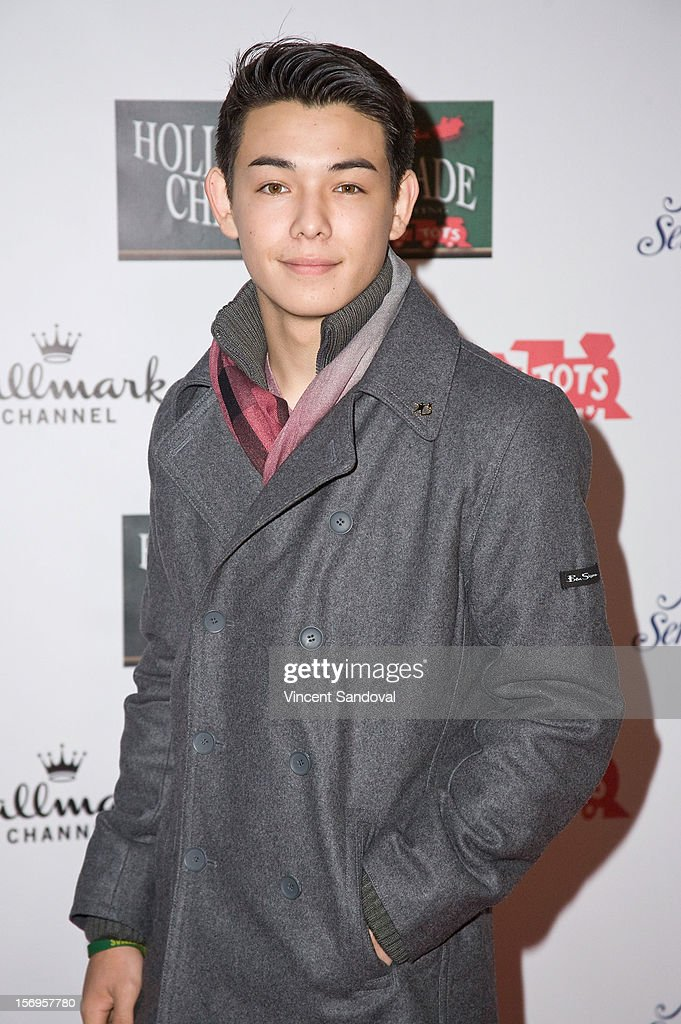 Actor Ryan Potter attends the 2012 Hollywood Christmas Parade Benefiting Marine Toys For Tots on November 25, 2012 in Los Angeles, California.