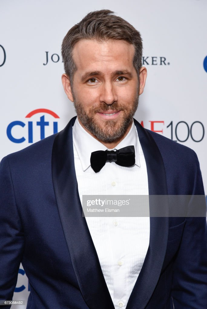 Actor Ryan Reynolds attends 2017 Time 100 Gala at Frederick P. Rose Hall, Jazz at Lincoln Center on April 25, 2017 in New York City.