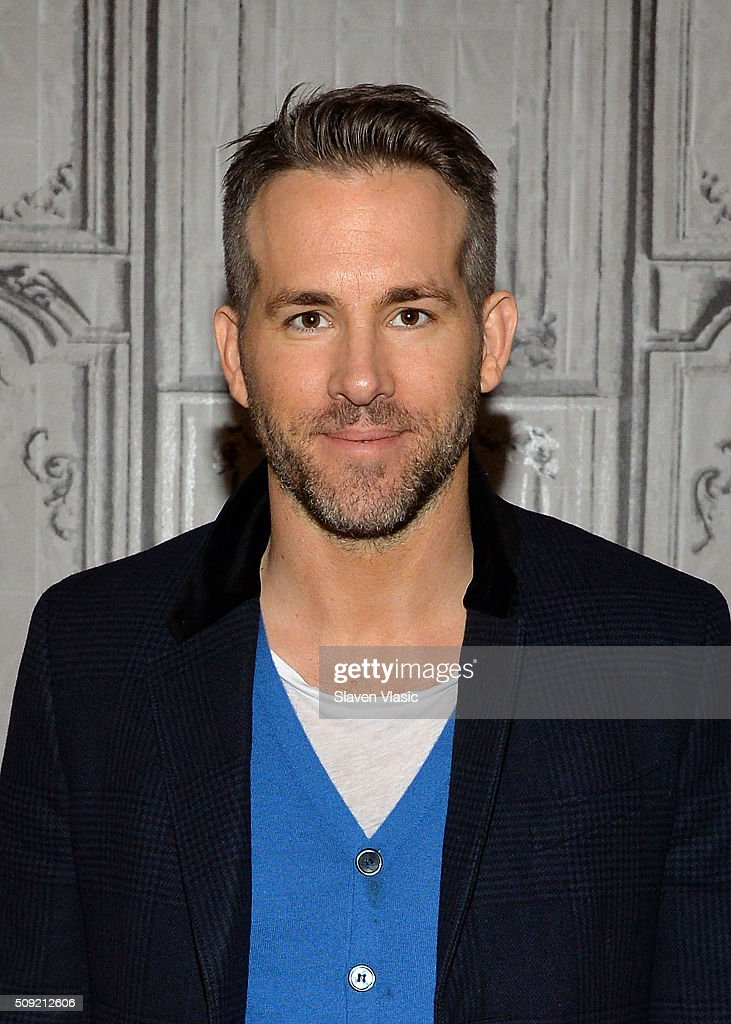 Actor <a gi-track='captionPersonalityLinkClicked' href=/galleries/search?phrase=Ryan+Reynolds&family=editorial&specificpeople=204149 ng-click='$event.stopPropagation()'>Ryan Reynolds</a> attends AOL Build Speaker Series to discuss his new film 'Deadpool' at AOL Studios In New York on February 9, 2016 in New York City.