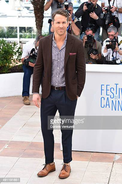 Actor Ryan Reynolds attends 'Captives' photocall at the 67th Annual Cannes Film Festival on May 16 2014 in Cannes France