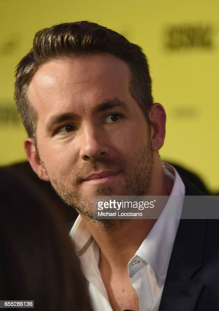 Actor Ryan Reynolds attends the 'Life' premiere during 2017 SXSW Conference and Festivals at the ZACH Theatre on March 18 2017 in Austin Texas