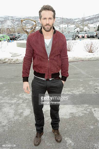 Actor Ryan Reynolds attends the 'Mississippi Grind' premiere during the 2015 Sundance Film Festival on January 24 2015 in Park City Utah