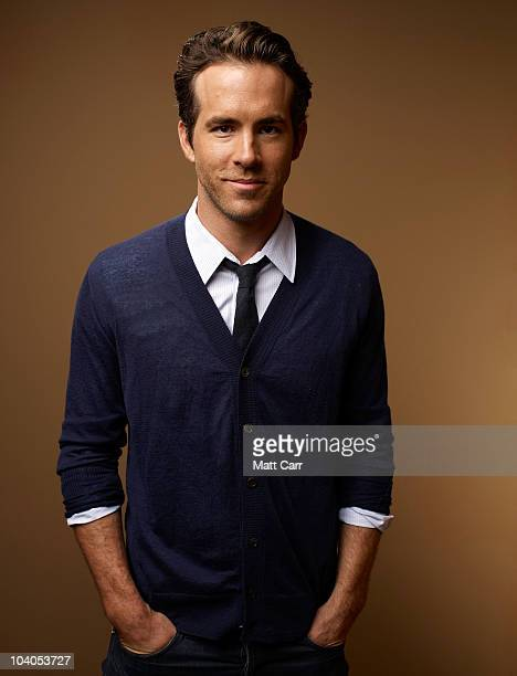 Actor Ryan Reynolds from 'Buried' poses for a portrait during the 2010 Toronto International Film Festival in Guess Portrait Studio at Hyatt Regency...
