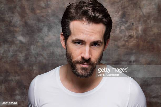 Actor Ryan Reynolds is photographed for Los Angeles Times on January 24 2015 in Park City Utah PUBLISHED IMAGE CREDIT MUST READ Jay L Clendenin/Los...