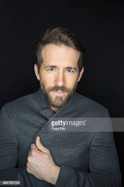 Actor Ryan Reynolds is photographed for USA Today on February 2 2015 in New York City