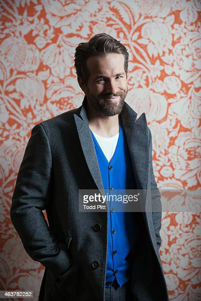 Actor Ryan Reynolds is photographed for USA Today on February 2 2015 in New York City PUBLISHED IMAGE