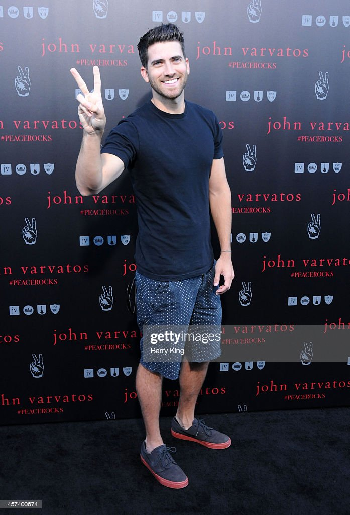 Actor Ryan Rottman attends the International Peace Day celebration at John Varvatos on September 21, 2014 in Los Angeles, California.
