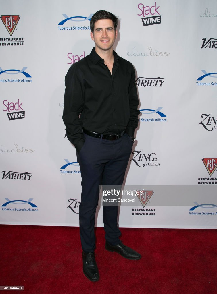Actor Ryan Rottman attends the Tuberous Sclerosis Alliance's Comedy For A Cure benefit at Lure on March 30, 2014 in Hollywood, California.