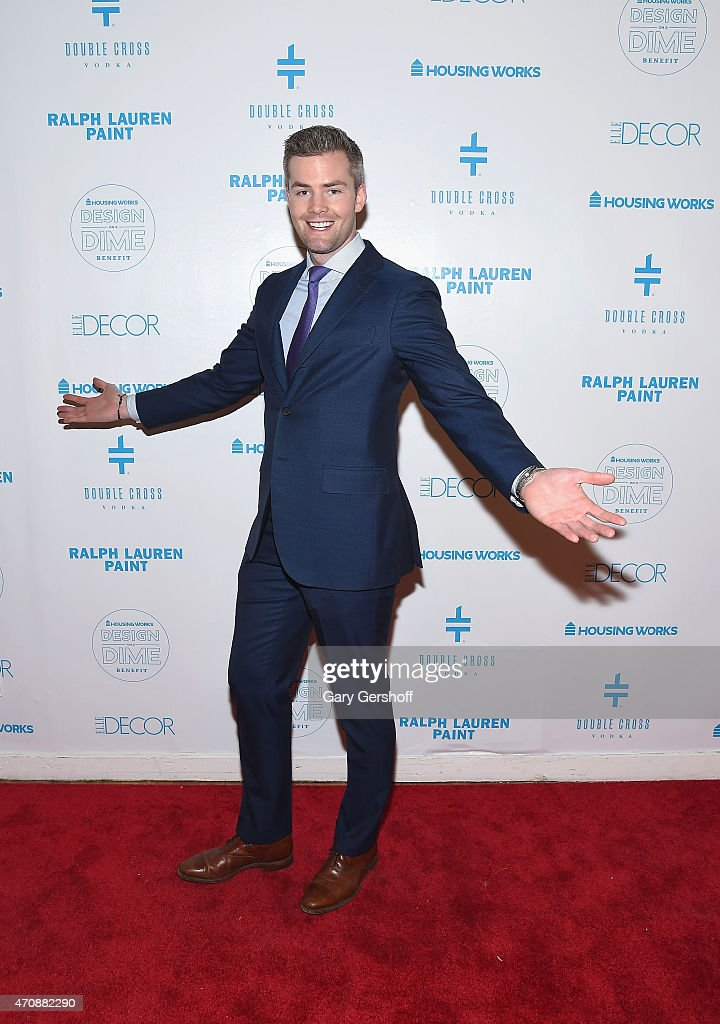 Actor Ryan Serhant attends The Housing Works Design On A Dime 2015 Event at Metropolitan Pavilion on April 23 2015 in New York City