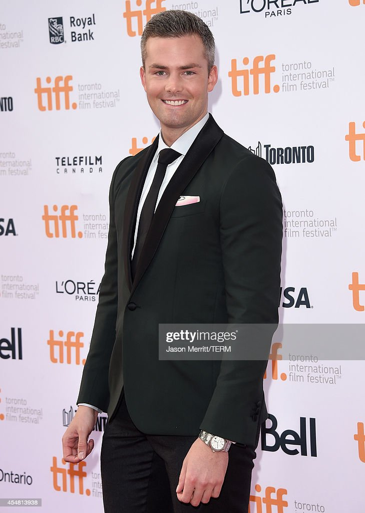 Actor Ryan Serhant attends the 'While We're Young' premiere during the 2014 Toronto International Film Festival at Princess of Wales Theatre on...