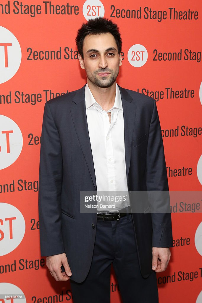 Actor Ryan Shams attends the 'Water By The Spoonful' Opening Night Celebration at Dave & Buster's Time Square on January 8, 2013 in New York City.