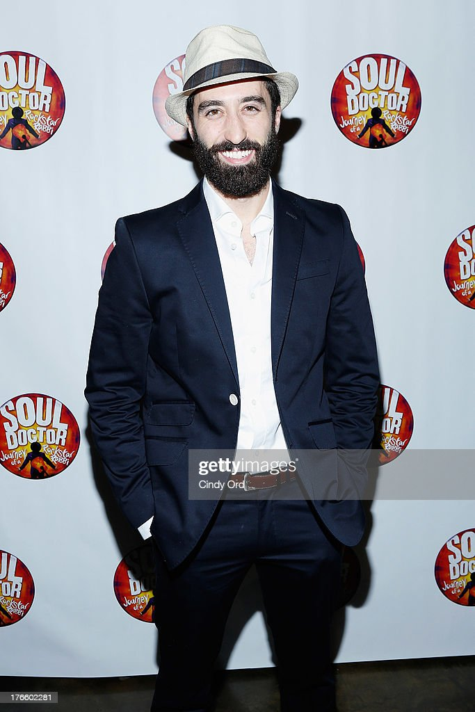 Actor Ryan Strand attends the after party for the Broadway opening night of 'Soul Doctor' at the The Liberty Theatre on August 15, 2013 in New York City.