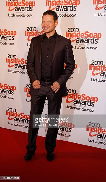 Actor Ryan Thomas attends the Inside Soap Awards 2010 at Shaka Zulu on September 27 2010 in London England