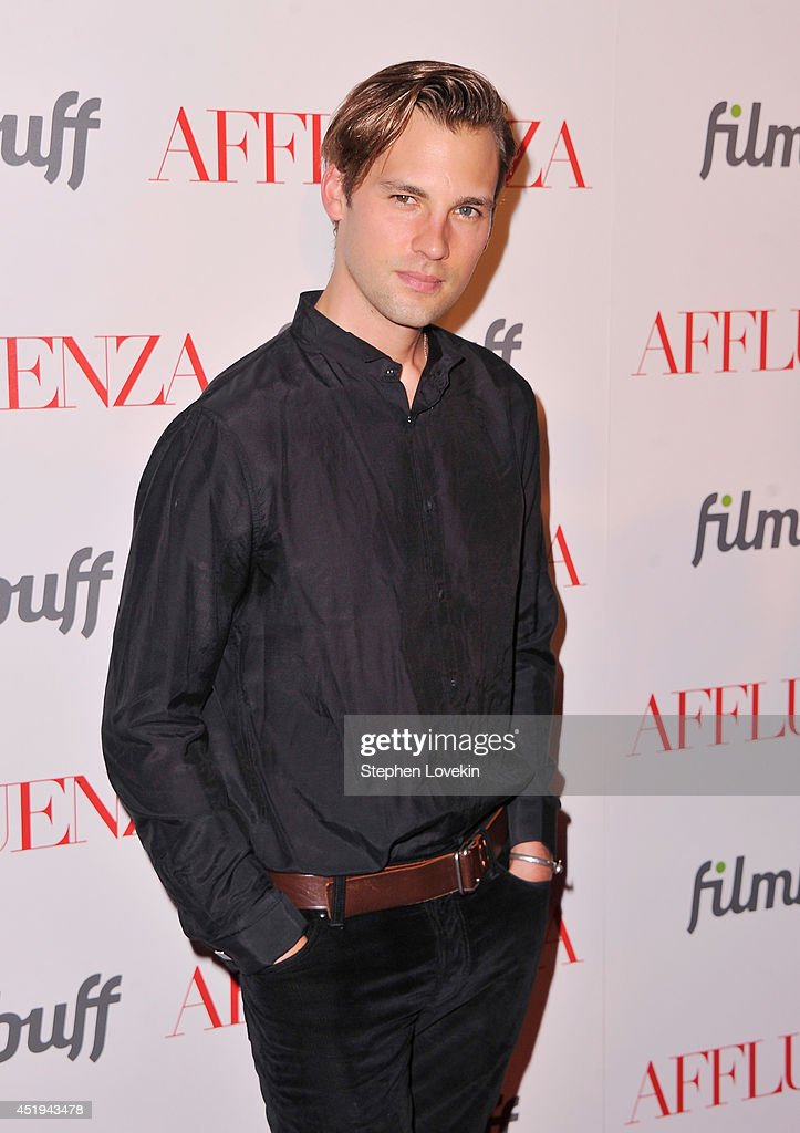 Actor Ryan Vigilant attends the 'Affluenza' premiere at SVA Theater on July 9, 2014 in New York City.