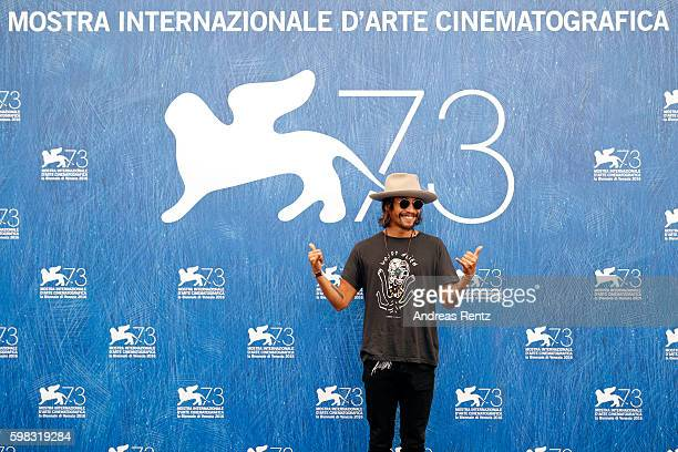 Actor Ryoo SeungBum attends a photocall for 'Geumul The Net' during the 73rd Venice Film Festival at on September 1 2016 in Venice Italy
