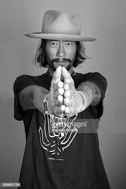 Actor Ryoo Seungbum is photographed for Self Assignment on September 1 2016 in Venice Italy