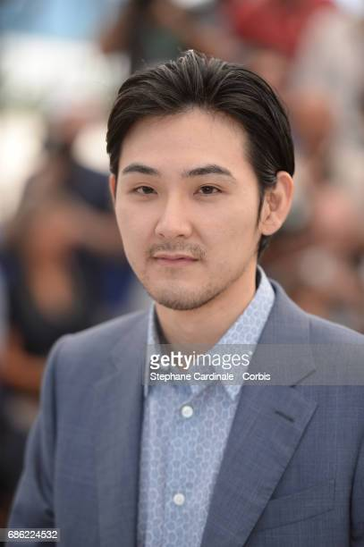 Actor Ryuhei Matsuda attends the 'Before We Vanish ' photocall during the 70th annual Cannes Film Festival at Palais des Festivals on May 21 2017 in...
