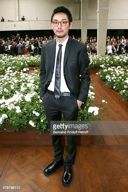 Actor Ryuhei Matsuda attends the Dior Homme Menswear Spring/Summer 2016 show as part of Paris Fashion Week on June 27 2015 in Paris France