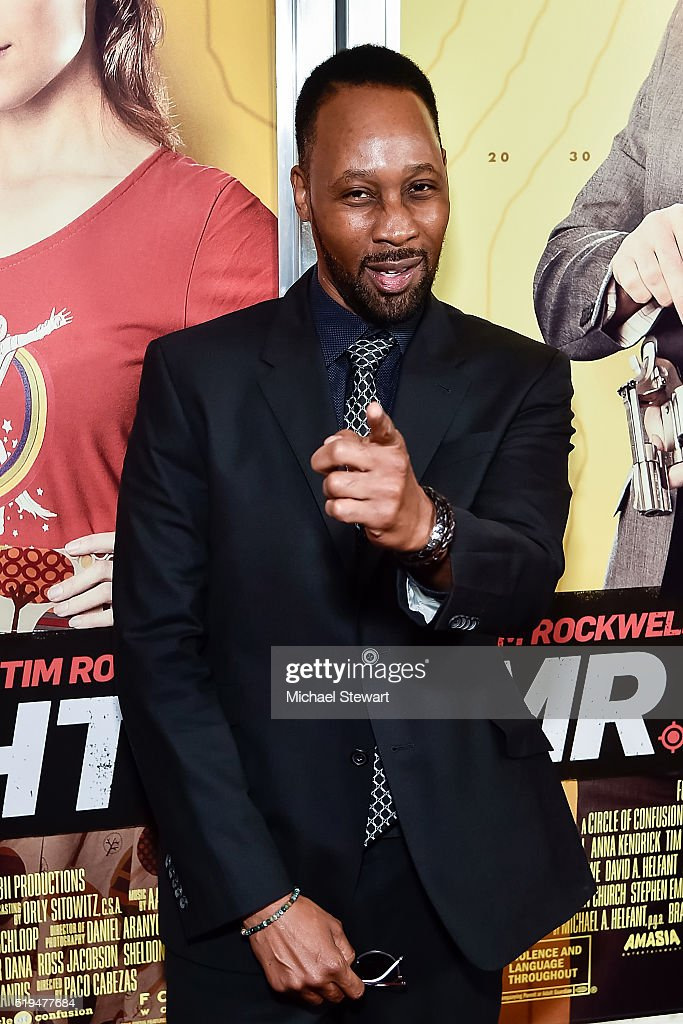 Actor RZA attends the 'Mr Right' New York premiere at AMC Lincoln Square Theater on April 6 2016 in New York City