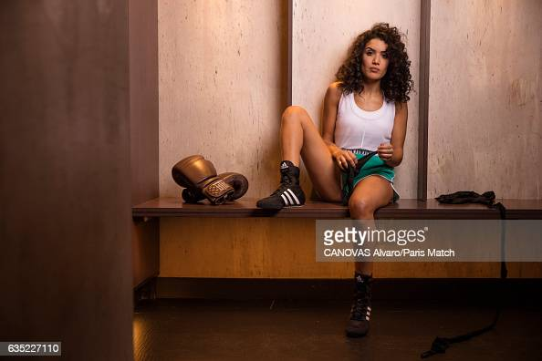 Actor Sabrina Ouazani is photographed for Paris Match on December 16 2016 in Paris France