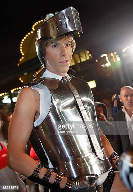 Actor Sacha Baron Cohen arrives for the official Australian premiere of the film 'Bruno' at the State Theatre on June 29 2009 in Sydney Australia