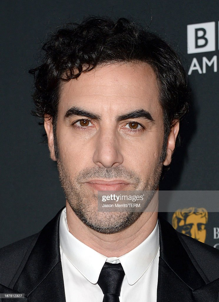Actor <a gi-track='captionPersonalityLinkClicked' href=/galleries/search?phrase=Sacha+Baron+Cohen&family=editorial&specificpeople=216389 ng-click='$event.stopPropagation()'>Sacha Baron Cohen</a> attends the 2013 BAFTA LA Jaguar Britannia Awards presented by BBC America at The Beverly Hilton Hotel on November 9, 2013 in Beverly Hills, California.
