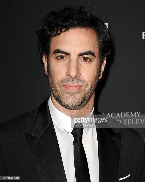 Actor Sacha Baron Cohen attends the BAFTA Los Angeles Britannia Awards at The Beverly Hilton Hotel on November 9 2013 in Beverly Hills California