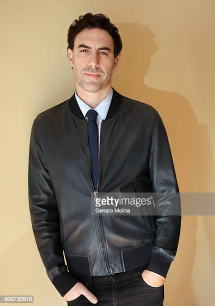 Actor Sacha Baron Cohen is photographed for Los Angeles Times on December 21 2015 in Los Angeles California PUBLISHED IMAGE CREDIT MUST READ Genaro...