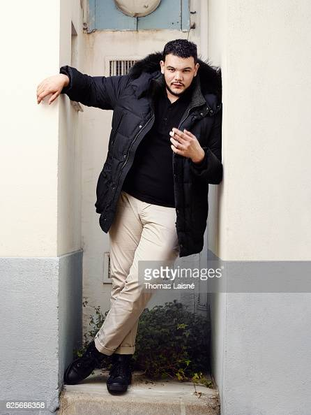 Actor Sadek is photographed for Self Assignment on October 4 2016 in Paris France