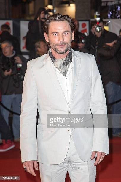 Actor Sagamore Stevenin attends the 15th NRJ Music Awards at Palais des Festivals on December 14 2013 in Cannes France