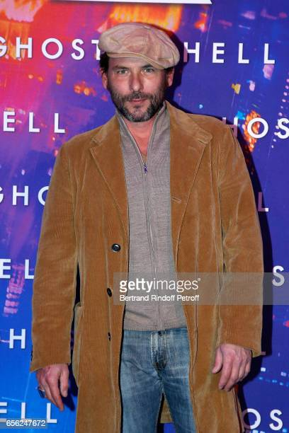 Actor Sagamore Stevenin attends the Paris Premiere of the Paramount Pictures release 'Ghost in the Shell' Held at Le Grand Rex on March 21 2017 in...