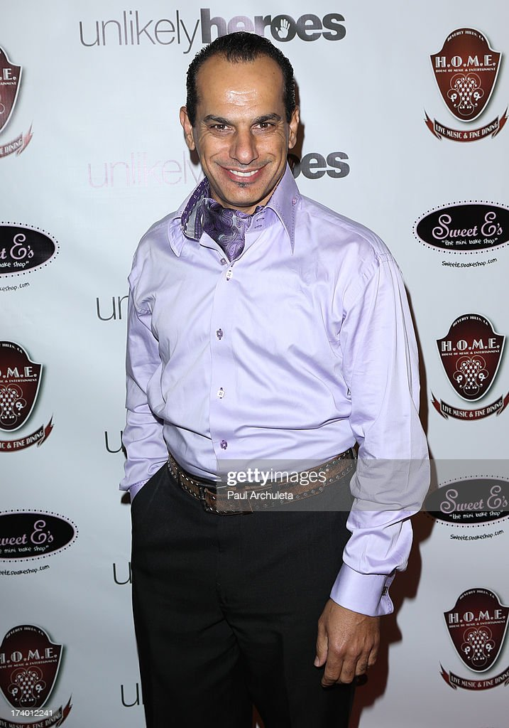 Actor Said Faraj attends the birthday celebration for Chelsie Hightower and Peta Murgatroyd and also supporting the 'Unlikely Heroes' charity organization on July 18, 2013 in Los Angeles, California.