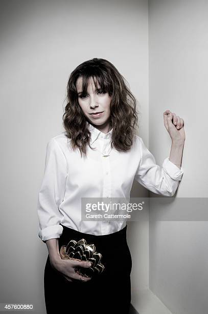 Actor Sally Hawkins poses in the portrait studio at the BFI London Film Festival 2014 on October 13 2014 in London England