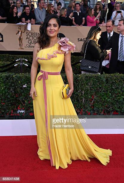 Actor Salma Hayek attends The 23rd Annual Screen Actors Guild Awards at The Shrine Auditorium on January 29 2017 in Los Angeles California 26592_008