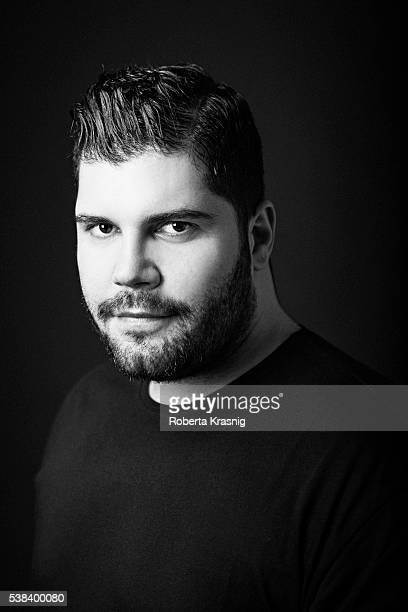Actor Salvatore Esposito is photographed for Self Assignment on May 17 2016 in Rome Italy