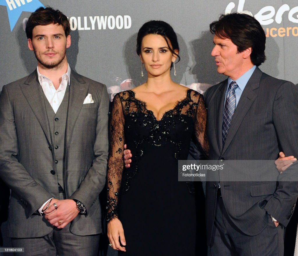 Actor Sam Claflin, actress Penelope Cruz and director Rob Marshall attend 'Pirates Of The Caribbean: On Stranger Tides' premiere at Kinepolis Cinema on May 18, 2011 in Madrid, Spain.