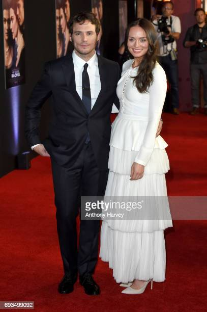 Actor Sam Claflin and his wife actress Laura Haddock attend the World Premiere of 'My Cousin Rachel' at Picturehouse Central on June 7 2017 in London...