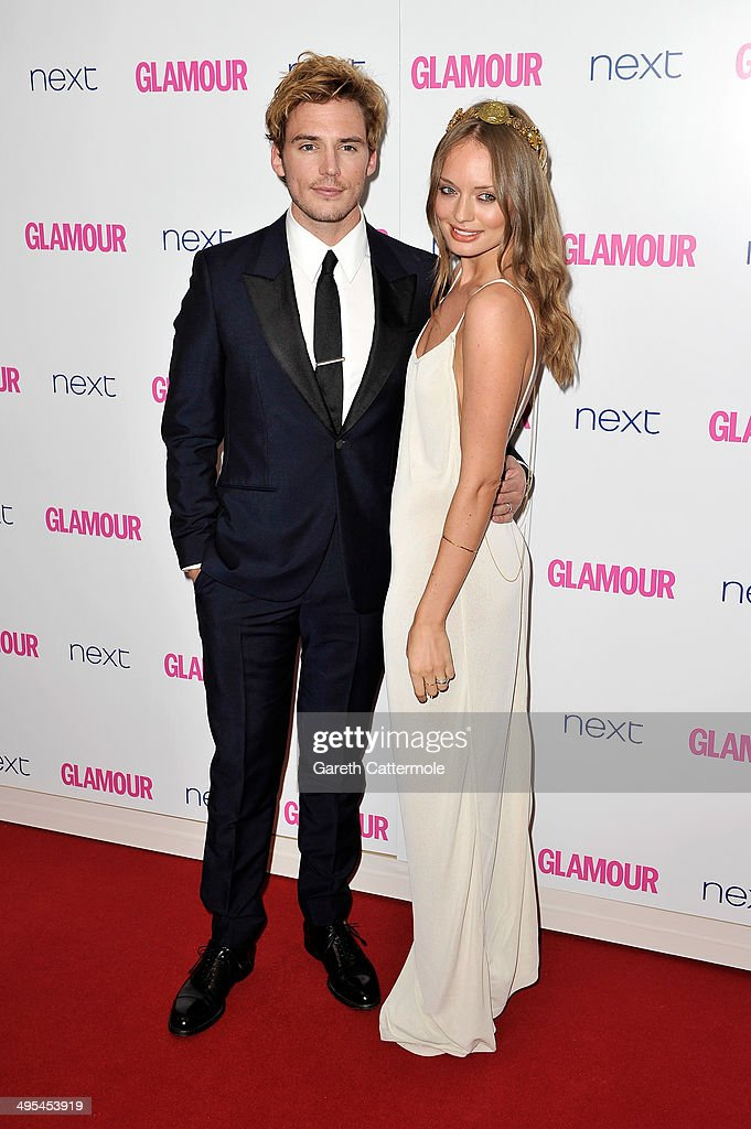 Actor <a gi-track='captionPersonalityLinkClicked' href=/galleries/search?phrase=Sam+Claflin&family=editorial&specificpeople=7238693 ng-click='$event.stopPropagation()'>Sam Claflin</a> and <a gi-track='captionPersonalityLinkClicked' href=/galleries/search?phrase=Laura+Haddock&family=editorial&specificpeople=4949007 ng-click='$event.stopPropagation()'>Laura Haddock</a> attend the Glamour Women of the Year Awards at Berkeley Square Gardens on June 3, 2014 in London, England.