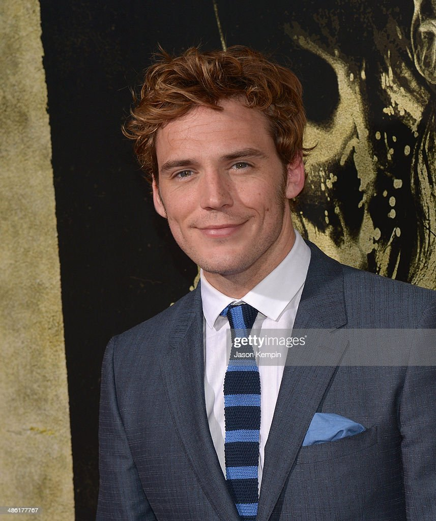 Actor <a gi-track='captionPersonalityLinkClicked' href=/galleries/search?phrase=Sam+Claflin&family=editorial&specificpeople=7238693 ng-click='$event.stopPropagation()'>Sam Claflin</a> attends the premiere of Lionsgate Films' 'The Quiet Ones' at The Theatre At Ace Hotel on April 22, 2014 in Los Angeles, California.