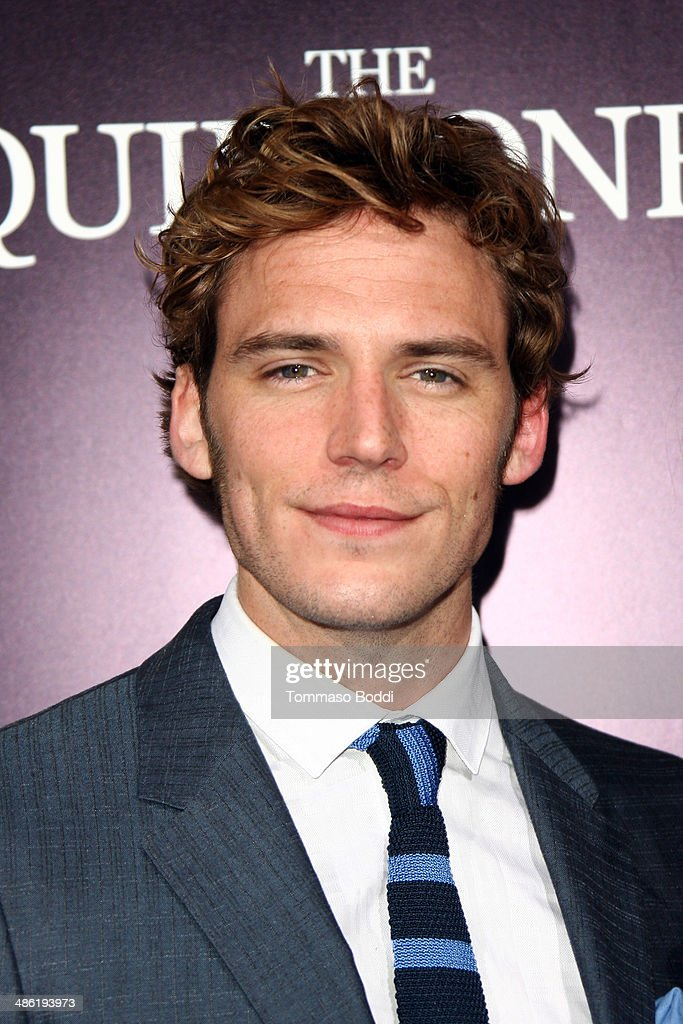 Actor <a gi-track='captionPersonalityLinkClicked' href=/galleries/search?phrase=Sam+Claflin&family=editorial&specificpeople=7238693 ng-click='$event.stopPropagation()'>Sam Claflin</a> attends the 'The Quiet Ones' Los Angeles premiere held at The Theatre At Ace Hotel on April 22, 2014 in Los Angeles, California.
