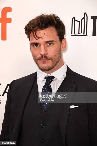 Actor Sam Claflin attends the 'Their Finest' premiere during the 2016 Toronto International Film Festival at Roy Thomson Hall on September 11 2016 in...